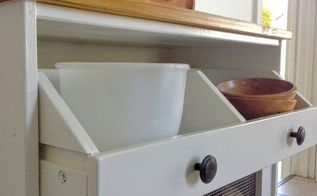 potato bin ikea hack, painted furniture, repurposing upcycling