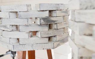 diy faux concrete planters, crafts