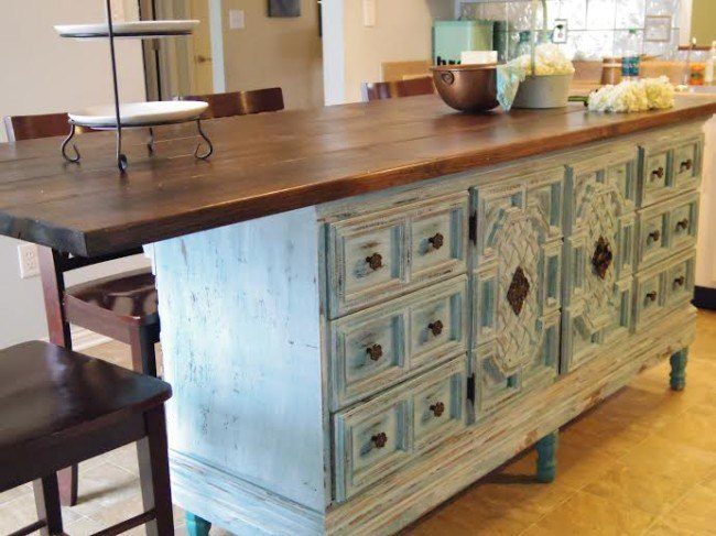 How To Turn A Dresser Into Kitchen Island Hometalk