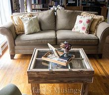 how to make a rustic old window coffee table, diy, home decor, how to, living room ideas, painted furniture, repurposing upcycling, woodworking projects