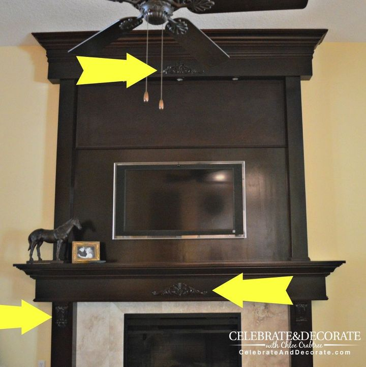 How to shiplap a fireplace or a wall hometalk for Diy fireplace wall ideas