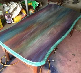 High Quality Just A Coffee Table No Way This Is Art Spitchallenge, Painted Furniture,  Stain The