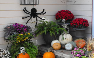 halloween and fall of 2014, halloween decorations, seasonal holiday decor, I m ready for the Trick or Treators