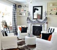 our 2015 halloween sitting room, halloween decorations, seasonal holiday decor