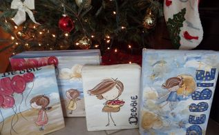 make your own gift wrapping paper inexpensive and fun, christmas decorations, crafts, repurposing upcycling