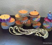 tea light decoration, crafts, home decor