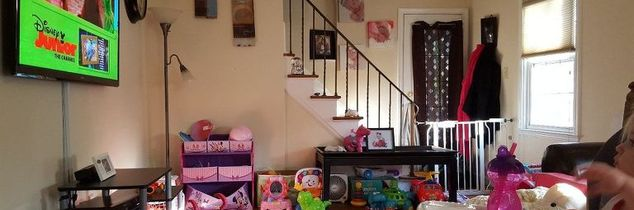 q what to do with all these toys such little space, living room ideas, organizing