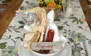 nature inspired thanksgiving tablescape, seasonal holiday decor, thanksgiving decorations