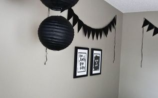 chic modern black and white playroom, bedroom ideas, diy, entertainment rec rooms, home decor