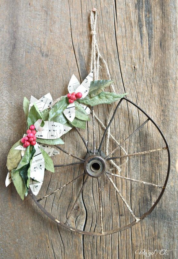 diy rustic christmas wreath christmas decorations crafts wreaths - Rustic Christmas Decorations