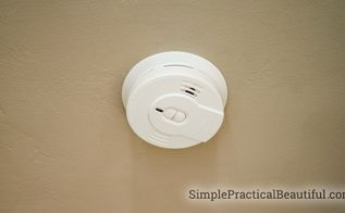 how to install a smoke alarm, home maintenance repairs, home security, how to