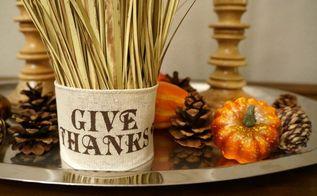 simple wheat centerpiece, crafts, seasonal holiday decor, thanksgiving decorations