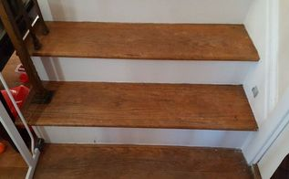 stair steps into storage space, stairs, storage ideas