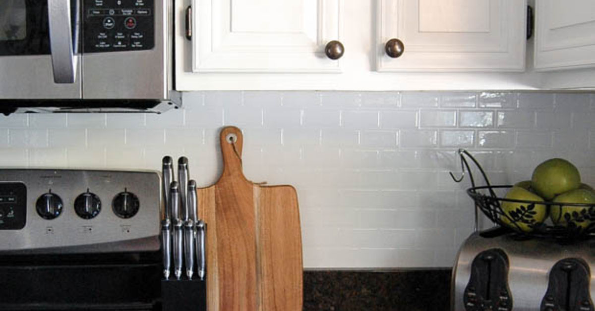 No Fuss Kitchen Backsplash Ideas