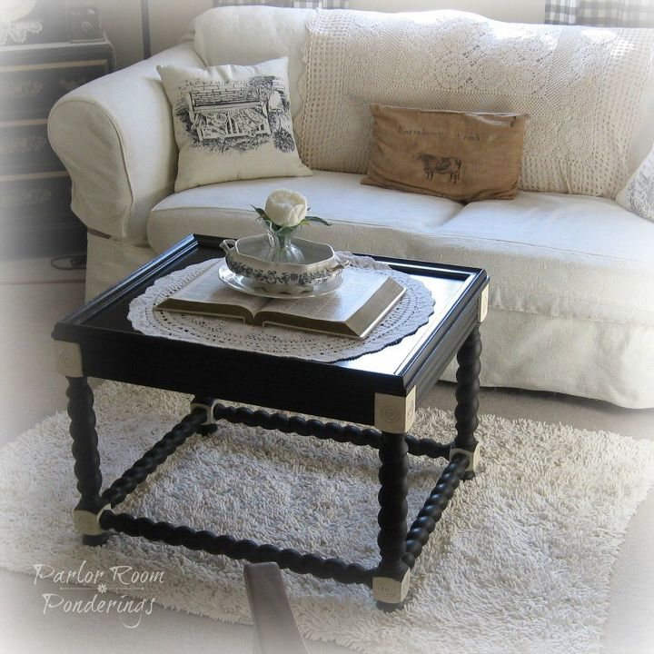 Thrifty Coffee Table Makeover Painted Furniture