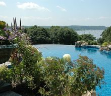 infinity pool project in cove neck long island ny, landscape, outdoor living, pool designs