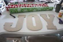 easy diy joy pallet sign, christmas decorations, crafts, diy, pallet, seasonal holiday decor, woodworking projects