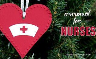 christmas ornament for nurses, christmas decorations, seasonal holiday decor