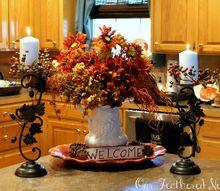 autumn home tour, home decor, seasonal holiday decor