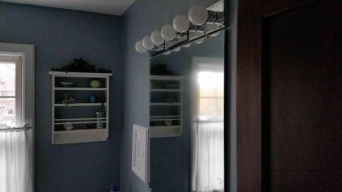 Bathroom Mirror Becoming Hazy & Blurry