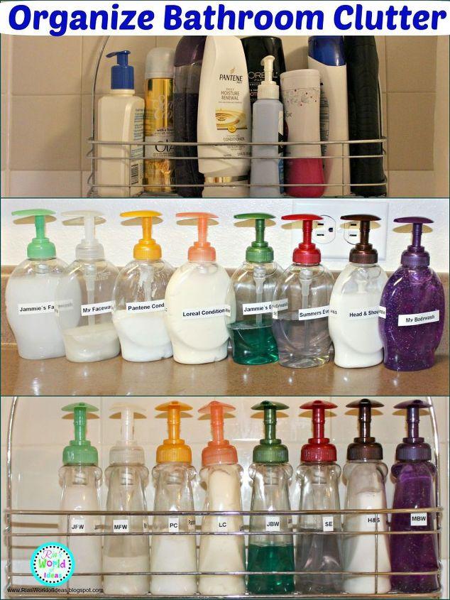 Organize Bathroom Clutter Bathroom Ideas Organizing Storage Ideas