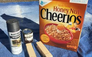 cereal box to lint box, crafts