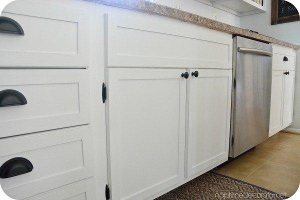 adding trim to 1960s cabinets hometalk. Black Bedroom Furniture Sets. Home Design Ideas