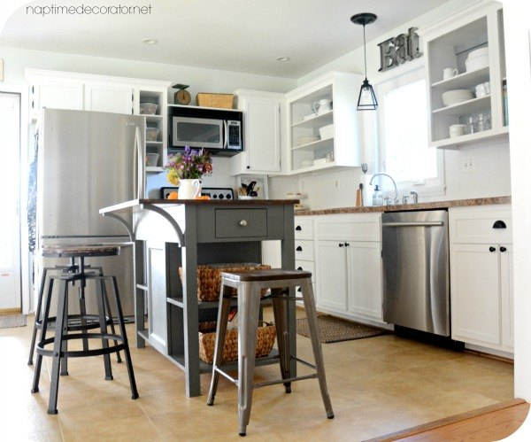 Adding Trim to 1960s Cabinets | Hometalk