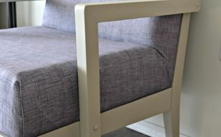 chair re upholstery the easy way, repurposing upcycling, reupholster