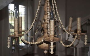 diy brass chandelier makeover on the cheap, how to, lighting, repurposing upcycling