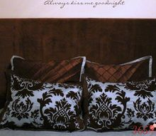 diy wall mounted padded headboard, bedroom ideas, how to, reupholster