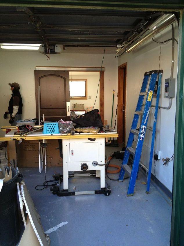 Garage studio apartment conversion interior design for Garage to apartment conversion plans
