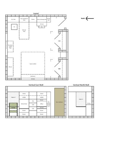 10x10 Room Layout Craft: How Would You Design This Craft Area?