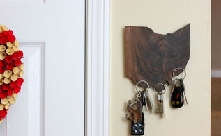 15 magic magnetic state pride keyholder, crafts, wall decor, woodworking projects