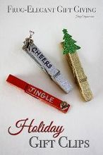 easy holiday gift clips, christmas decorations, crafts, seasonal holiday decor