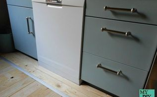new look for our kitchen cabinetry, kitchen cabinets, kitchen design, painting