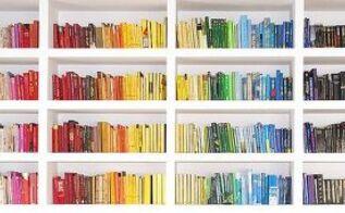 bookshelf styling 101, organizing, painted furniture, shelving ideas, storage ideas, Pietro Bellini Flickr