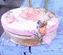 how to decoupage wood tutorial flea market flip ideas, crafts, decoupage, how to, repurposing upcycling