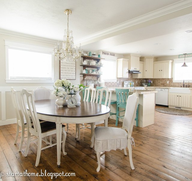 Our kitchen dining room remodel hometalk for Dining room 10 x 11