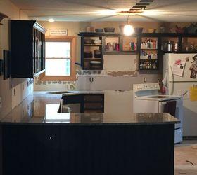 From Kitchen Island To Peninsula Kitchen Remodel, Home Improvement, Kitchen  Design