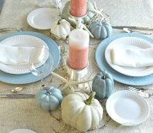 coastal holiday tablescape, seasonal holiday decor
