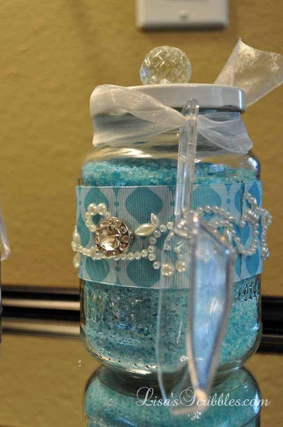 Christmas Decorating Ideas For Glass Jars : Diy christmas upcycling glass jars for gifts hometalk