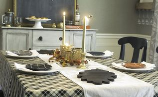 harvest plaid tablescape thanksgivingtablescape thanksgiving, crafts, how to, seasonal holiday decor, thanksgiving decorations