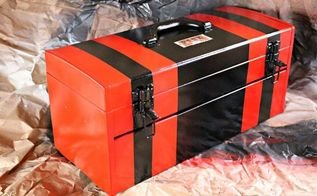 this toolbox was calling my name, crafts, tools