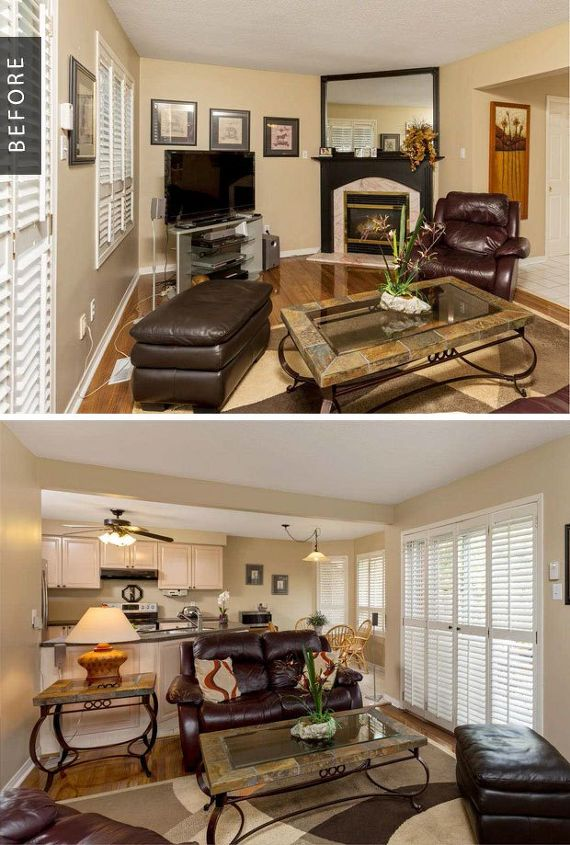 Family Room Gets A Cozy Makeover Before After Hometalk