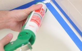 how to caulk your shower, bathroom ideas, home maintenance repairs, how to, Photos by Steve C Mitchell