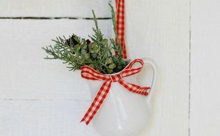 easy farmhouse christmas ornament handmadechristmasornaments, christmas decorations, seasonal holiday decor