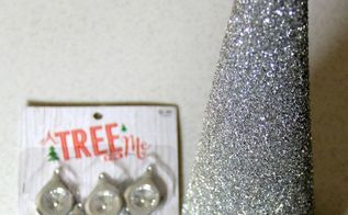 diy silver spoon christmas trees, christmas decorations, crafts, seasonal holiday decor