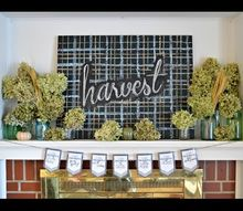 i am thankful banner, seasonal holiday decor, thanksgiving decorations