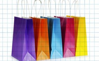 how to make a gazillion and one gift bags for a buck, crafts